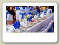 Wawel Hall Bride and Groom Table
