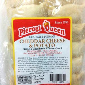 cheddar cheese & potato
